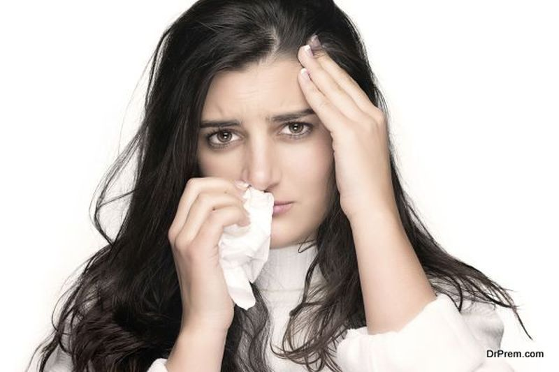 suffering from fever