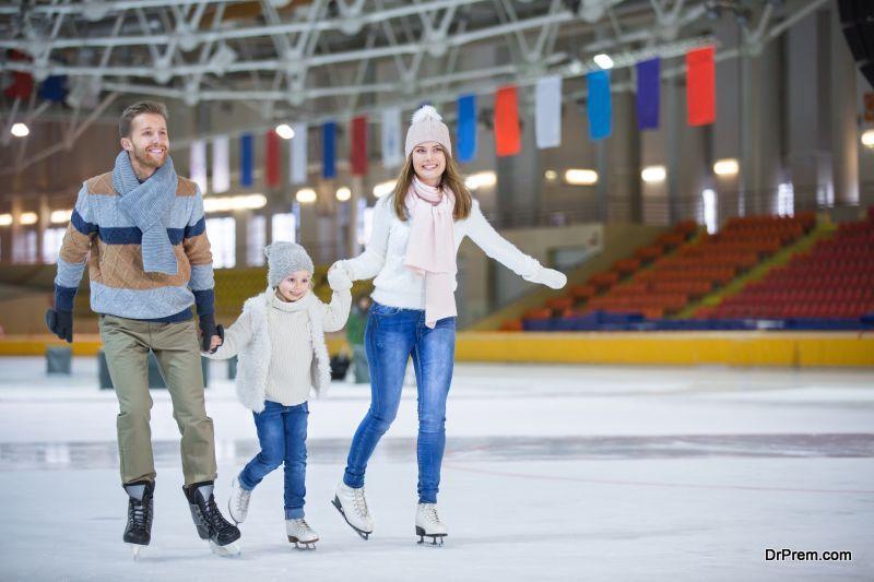 Recreational Ice Skating