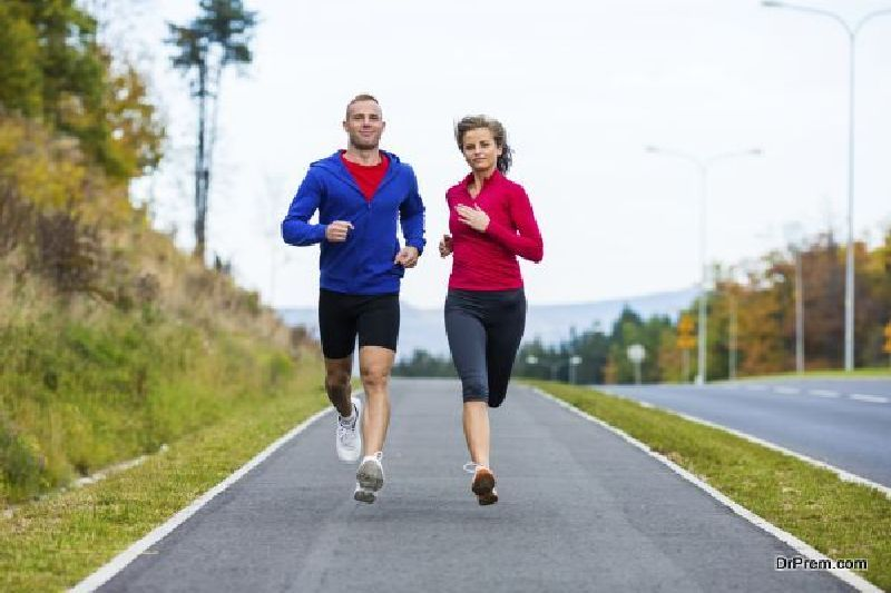 light jogging