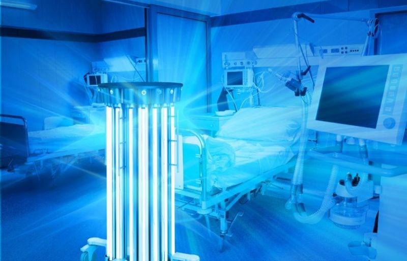 Disinfection UV robots