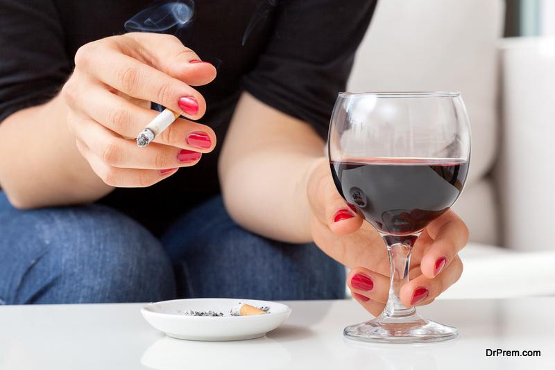 Cigarettes vs alcohol