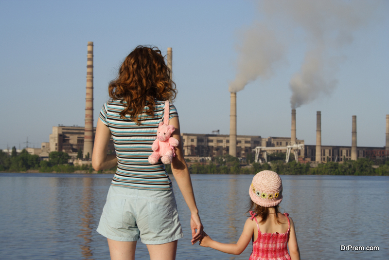 air pollution affects your child's health