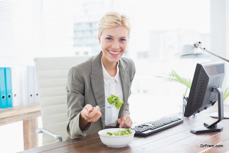 eat healthy at your office