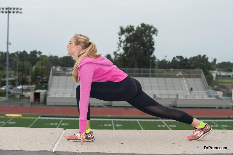 skip warmup and stretching