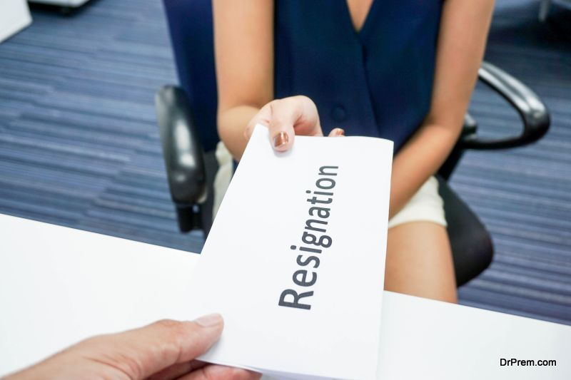 Quitting your job is a very big decision