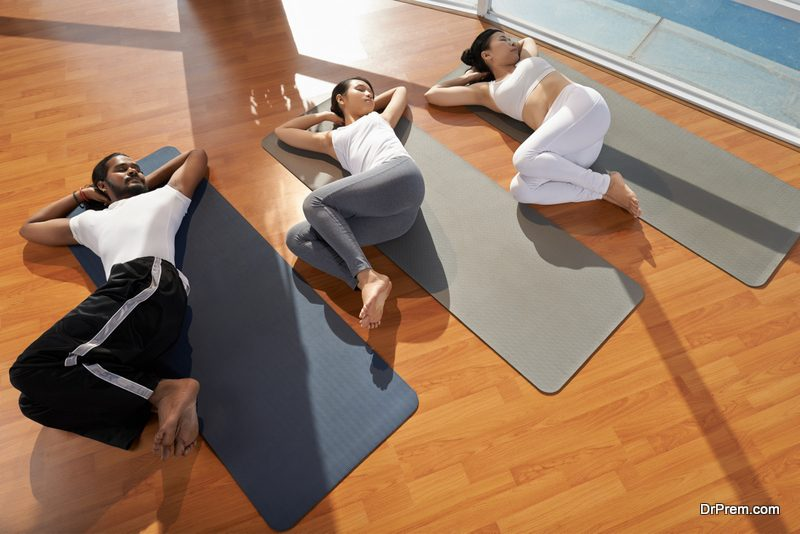 Yoga is a total body weight exercise