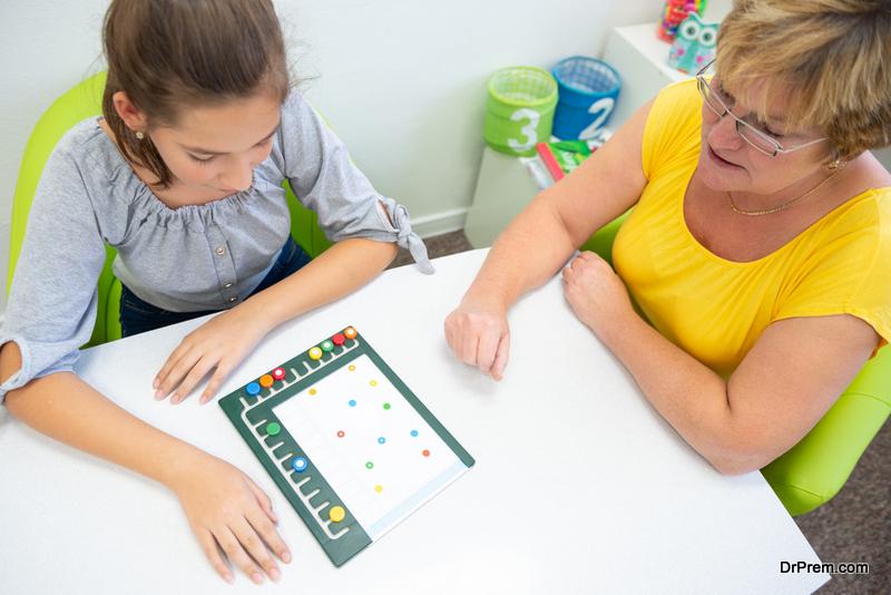Encourage relaxing activities in the classroom