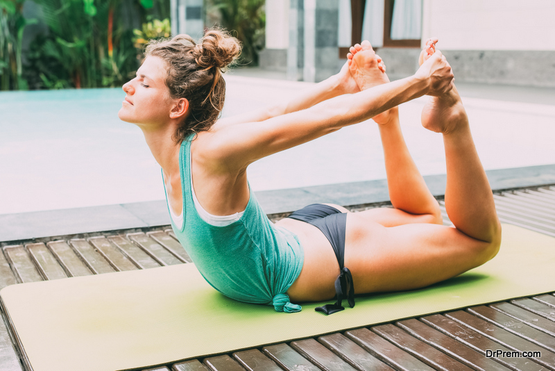 The bow curve pose