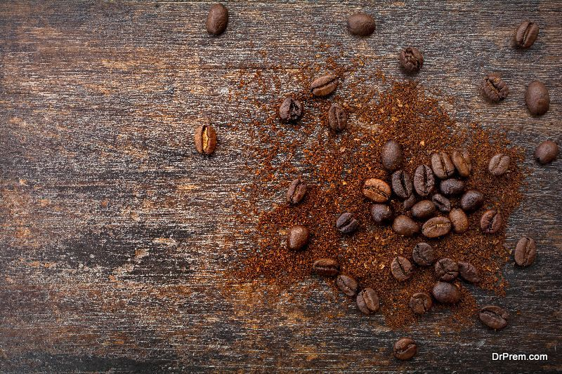 coffee beans have been roasted,
