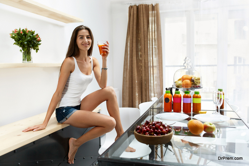 create diet plan for healthy skin and hair
