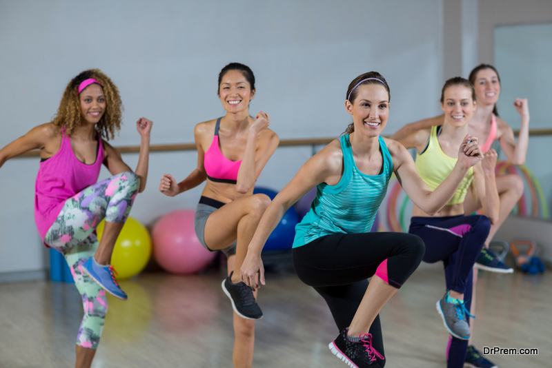 Aerobics is good in the first trimester