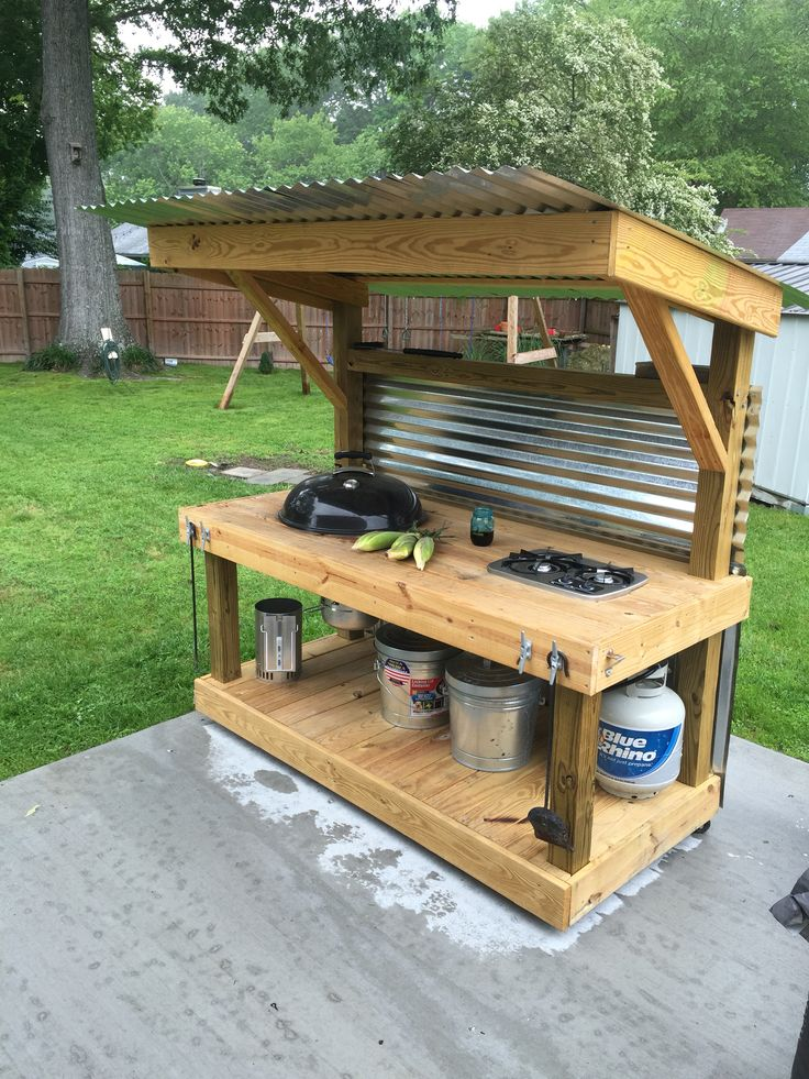 How to Build the Ultimate Outdoor Kitchen Designs - DIY ... on Patio Kitchen Diy  id=62841