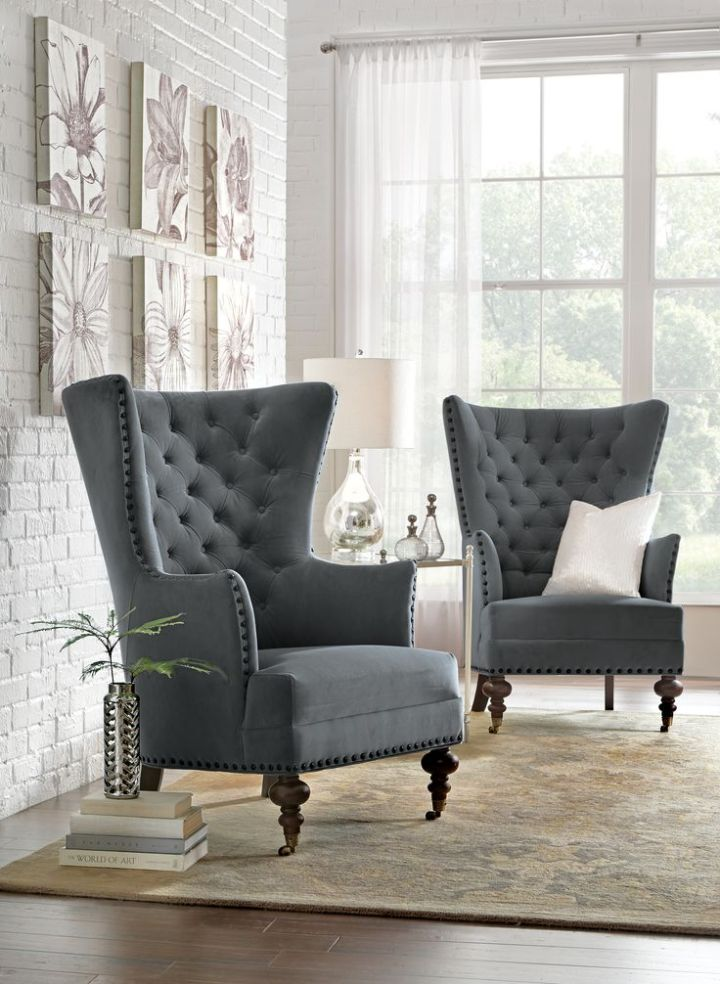 accent chairs for your sophisticated space decoration diy home art