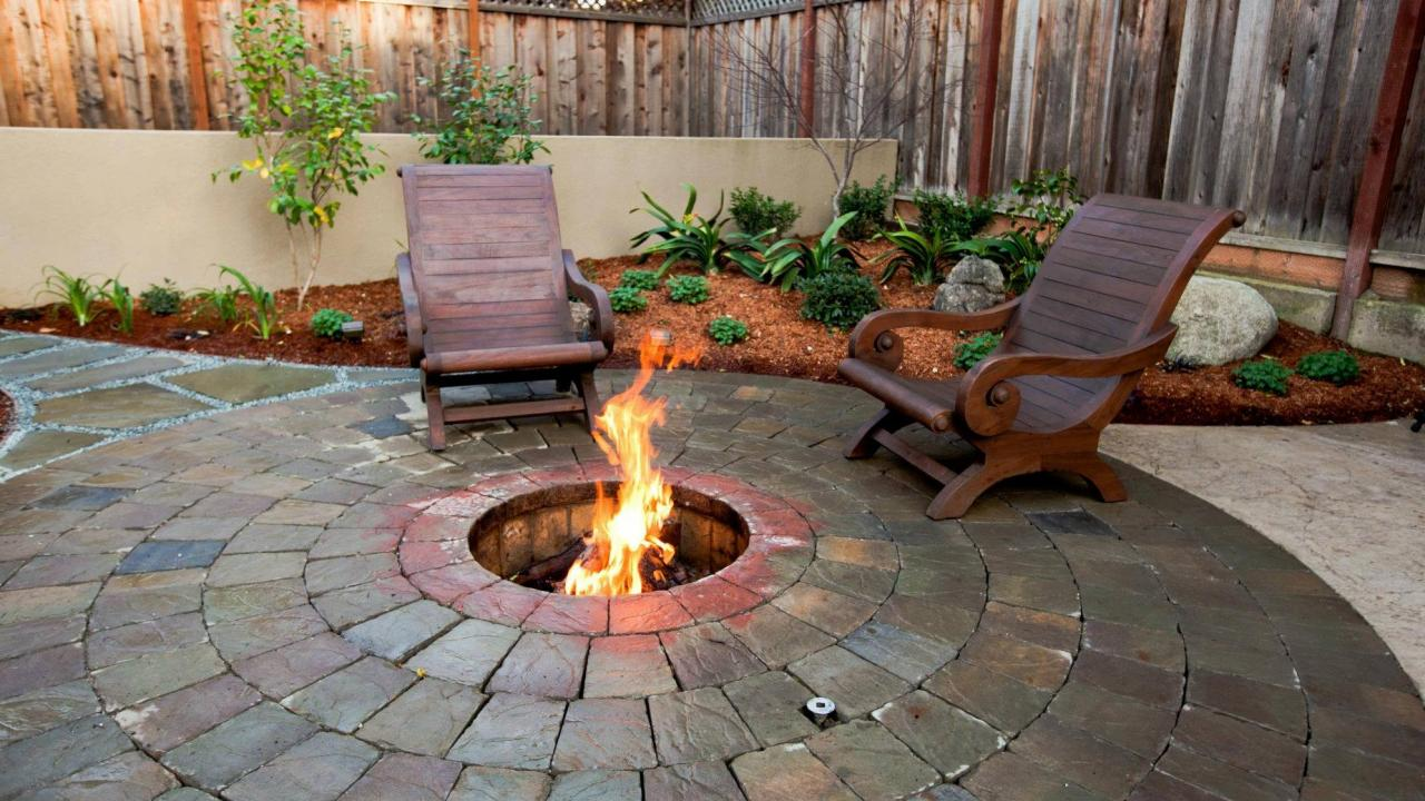 It's Time to Build Your Own Stylish Backyard Fire Pit ... on Fireplace In Yard id=43897