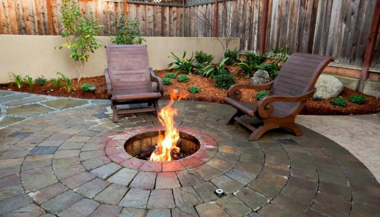 Backyard Fire Pit - It's Time To Build Your Own Stylish Backyard Fire Pit - DIY Home Art