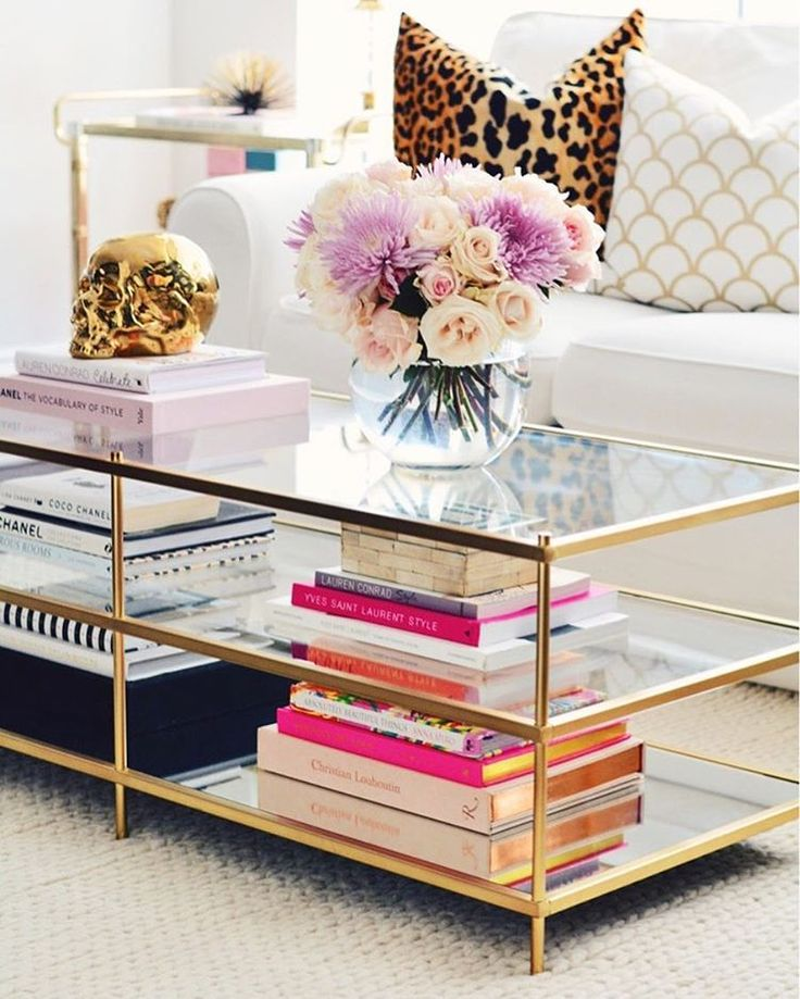 Superbe Glass Coffee Table Decorating Ideas