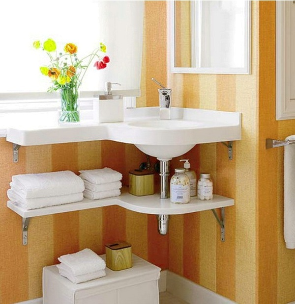 Creative DIY Storage Ideas For Small Spaces And Apartments on Bathroom Ideas Small Spaces  id=60506