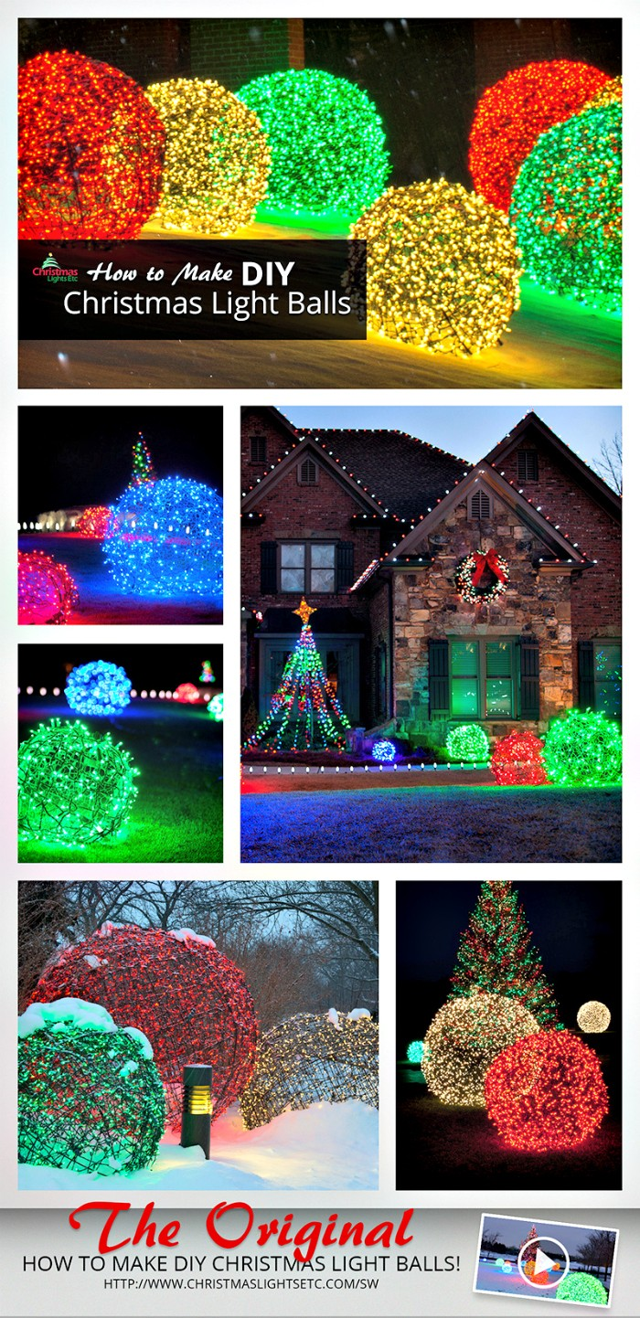 21 Cheap DIY Outdoor Christmas Decorations | DIY Home Decor on Lawn Decorating Ideas id=92597