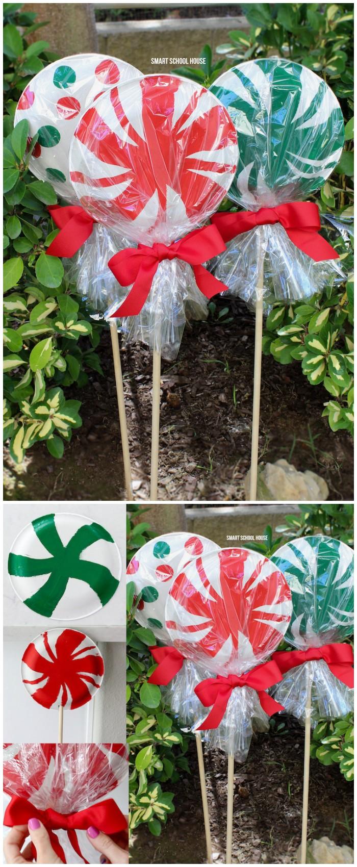 21 Cheap DIY Outdoor Christmas Decorations | DIY Home Decor on Easy Diy Garden Decor id=67560