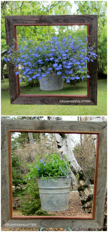 21 Lovely DIY Garden Decor Ideas You Will Love • DIY Home ... on Garden Decor Ideas  id=13781