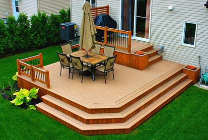 Pictures of Small Deck Designs Ideas Plans & Building T on Small Back Deck Decorating Ideas id=84134