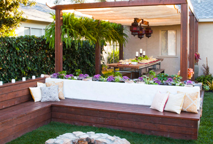 Backyard Makeover Ideas Easy Landscape Design Plans on Backyard Lawn Designs  id=29569