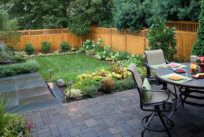 Small Backyard Designs - Landscape Pictures & Ideas on Small Backyard Landscaping  id=95148