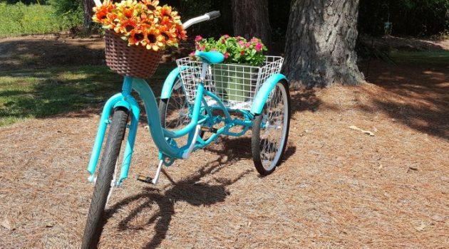 upcycled bike