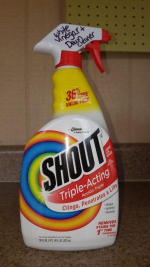 upcycled sprayer bottle