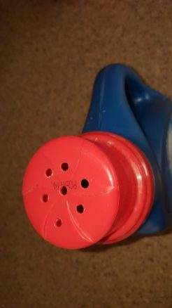 Laundry Bottle Upcycled Into A Watering Can