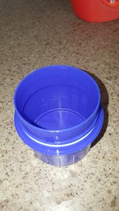 Laundry Detergent Bottle Cap Upcycled Into Measuring Cup