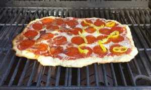 Quick, Easy Grilled Pizza