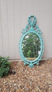 tiffany blue mirror