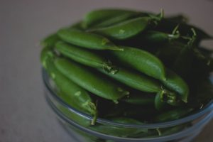 beans bowl close up fresh vegetables