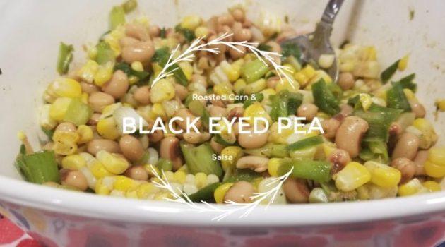 corn and black eyed pea salsa