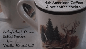 Irish American Coffee Cocktail