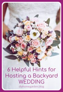 backyard wedding pin