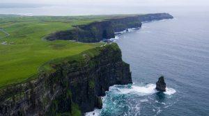 Ireland coast line Kerry