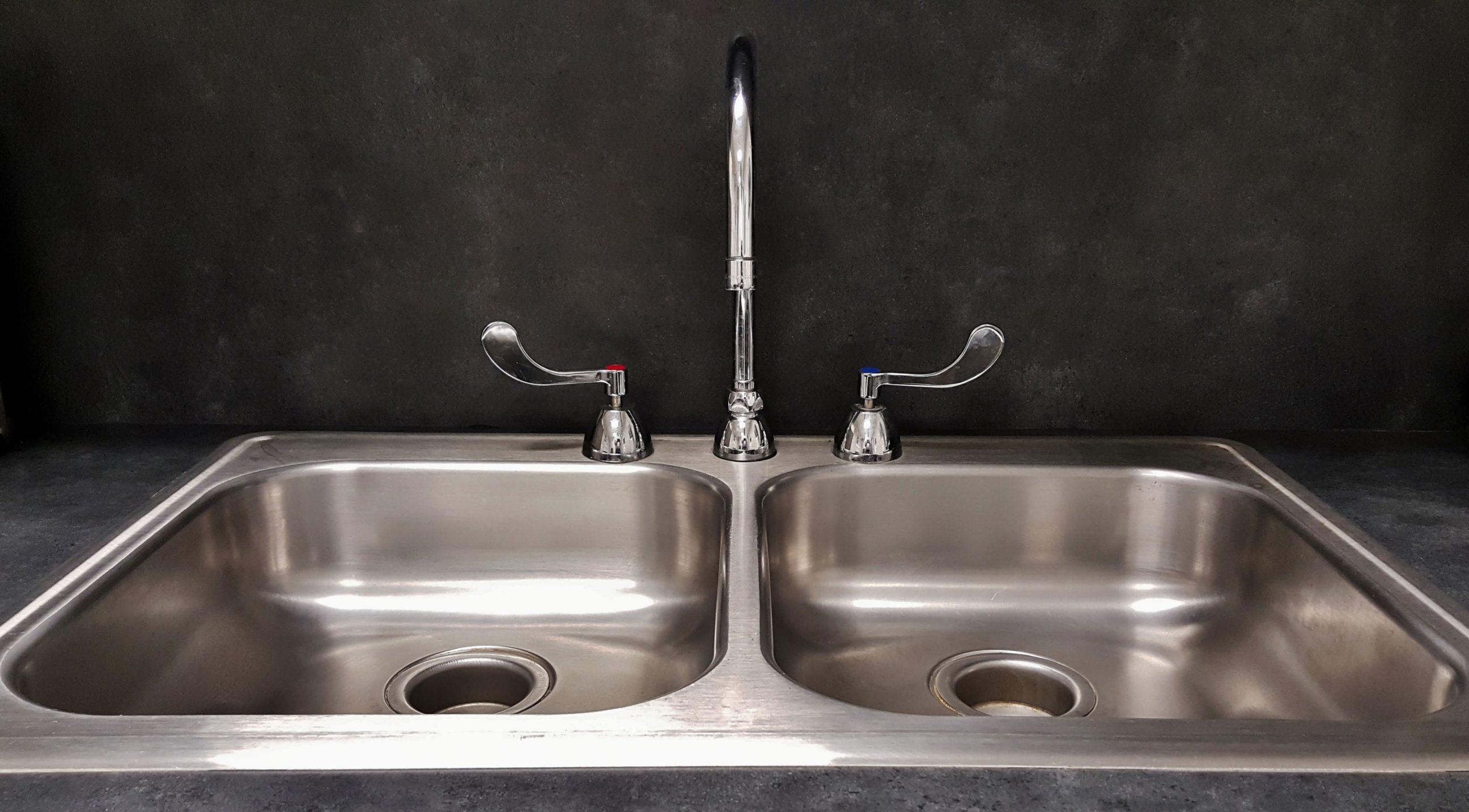 double bowl kitchen sinks