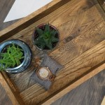 Diy Pallet Wood Serving Tray Diy Huntress