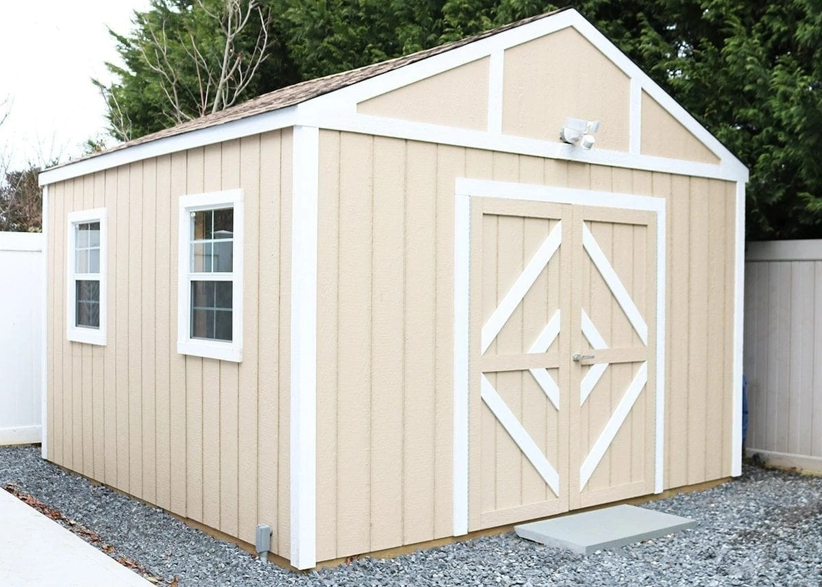Shed Shop Series How To Build A Shed Turn It Into A Workshop Diy Huntress