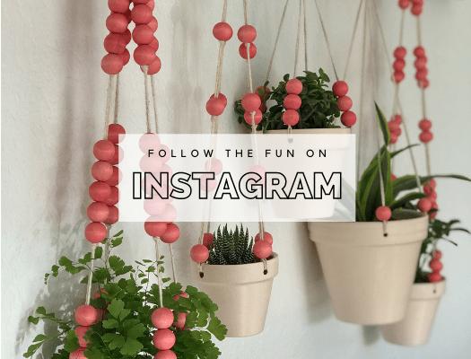 DIY I'm Home Instagram