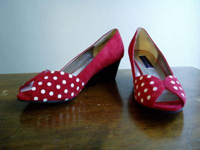 Polka Dot Shoes Tutorial