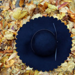 DIY Scalloped Brim Hat