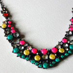 Neon Painted Jewelry DIY