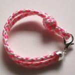 DIY Neon Rope Bracelet