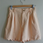 Scalloped Shorts Tutorial