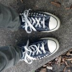 My DIY Studded Converse