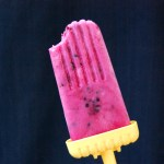 Berry Lime Yogurt Pops