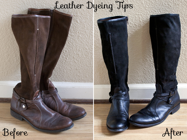 b10586285e50 Tips for How to Dye Leather and Suede